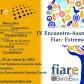 IV Encuentro‐Asamblea de Fiare Extremadura