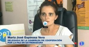 Mª José Espinosa en pantalla