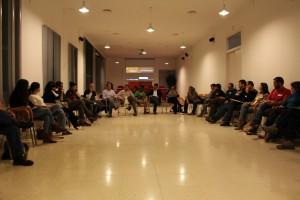 Movimientos y organizacoiones sociales y grupos políticos debaten sobre participación democráctica./ CONGDEX