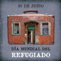 Resumen actividades Día de las personas refugiadas y Manifiesto SOS REFUGIADAS.