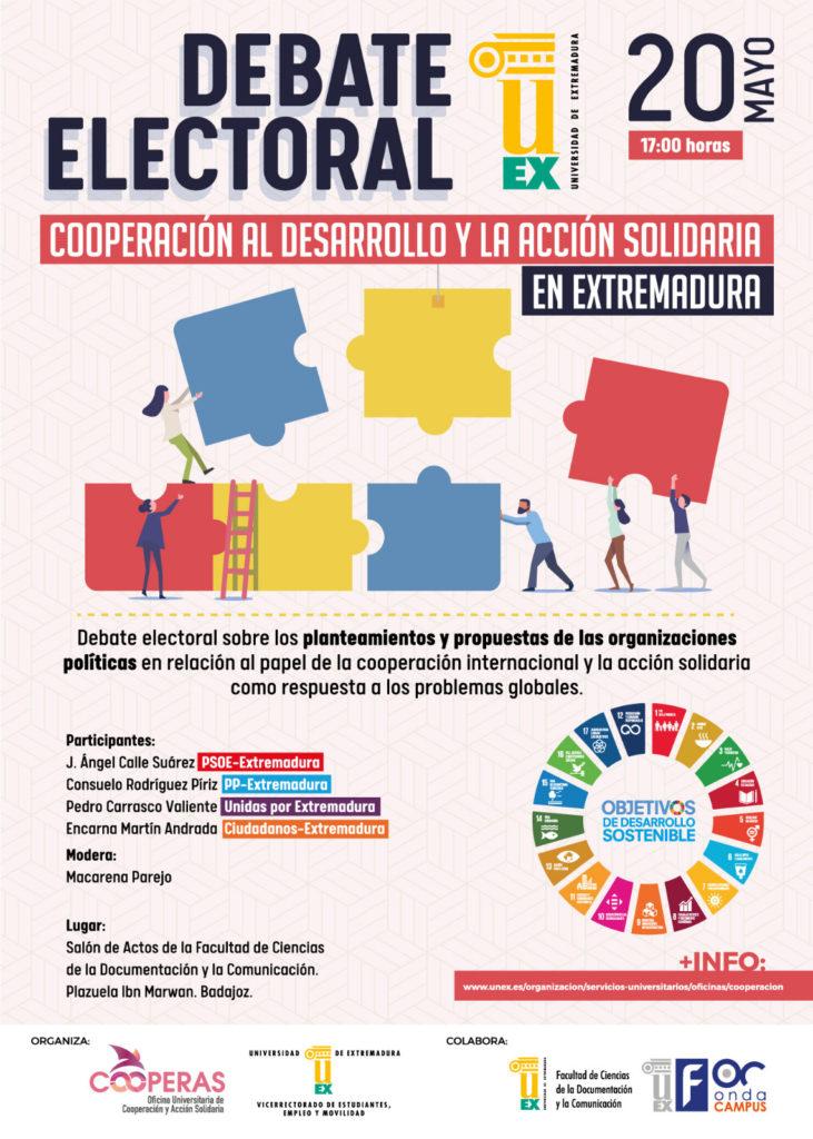 Debate Electoral PP PSOE Ciudadanos Unidas Podemos