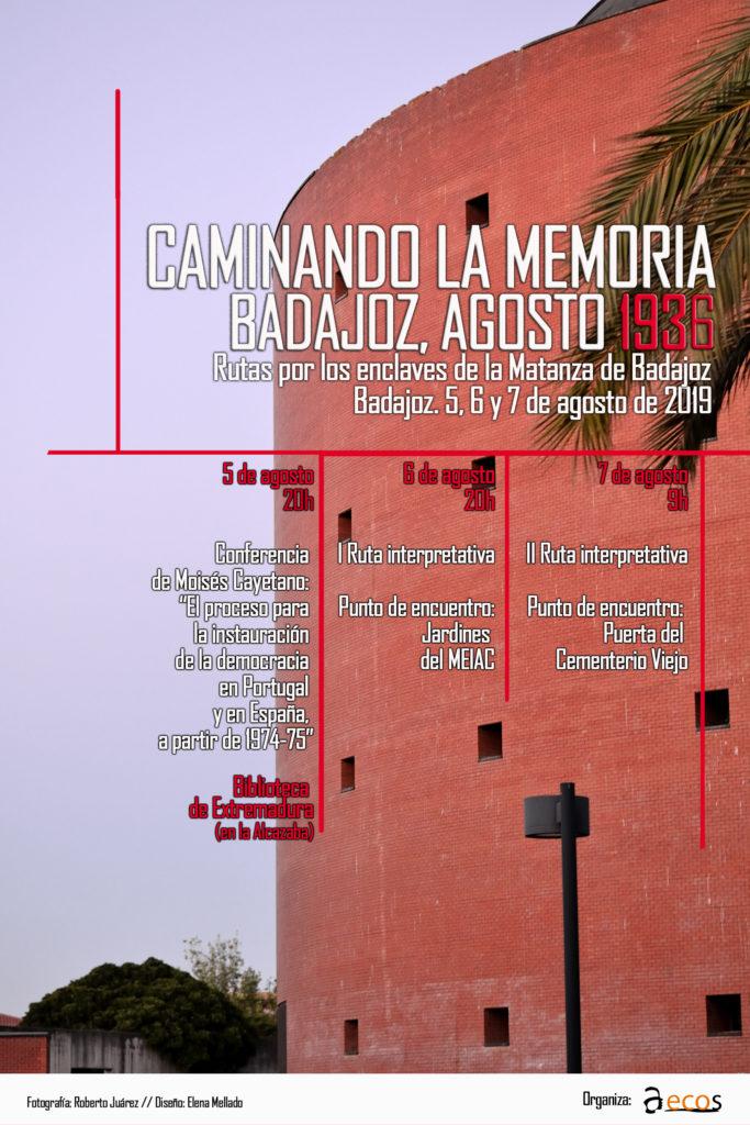 Caminando Memoria Histórica AECOS Badajoz