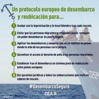 La CONGDEX se suma al comunicado de CEAR que reclama que España lidere una nueva forma de hacer políticas migratorias en Europa