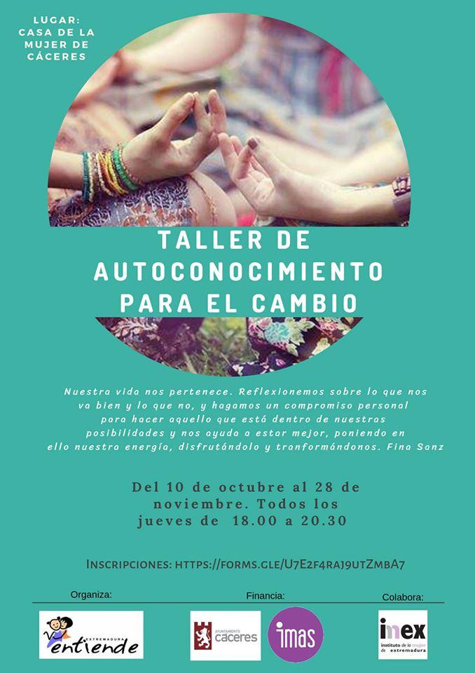 Extremadura Entiende Taller de Autoconocimiento para el cambio