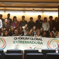 """NP_Manifiesto Quorum Global de Extremadura: """"Hay que parar y replantear cambios que transformen"""""""