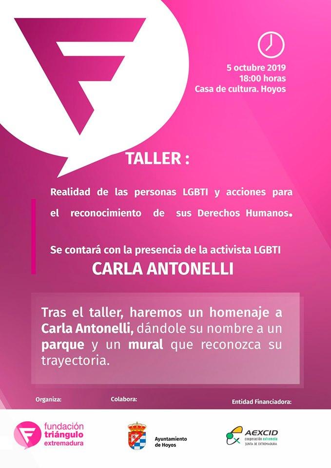 Formación sobre Realidad de las personas LGBTI y acciones para el reconocimiento de sus Derechos Humanos