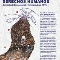 III Concurso Microrrelatos sobre Derechos Humanos, Amnistía Internacional Extremadura 2019