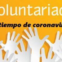 VOLUNTARIADO EN TIEMPOS DE CORONAVIRUS