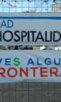"""Acción de calle """"De la Hostilidad a la Hospitalidad"""" en el marco del día de los Derechos Humanos."""