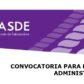 ASDE-SCOUTS Oferta de empleo de Administrativa/o-y Apoyo Técnico