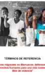 TDR contratación Persona/Equipo Consultor proyecto Marruecos